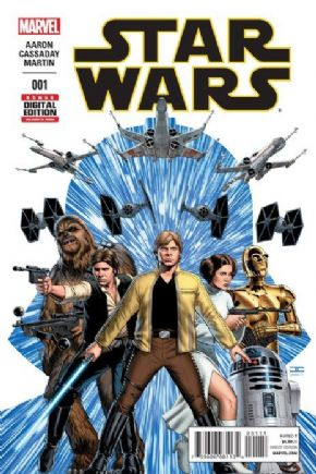 Star Wars #1 First Print (2015) Marvel comic book